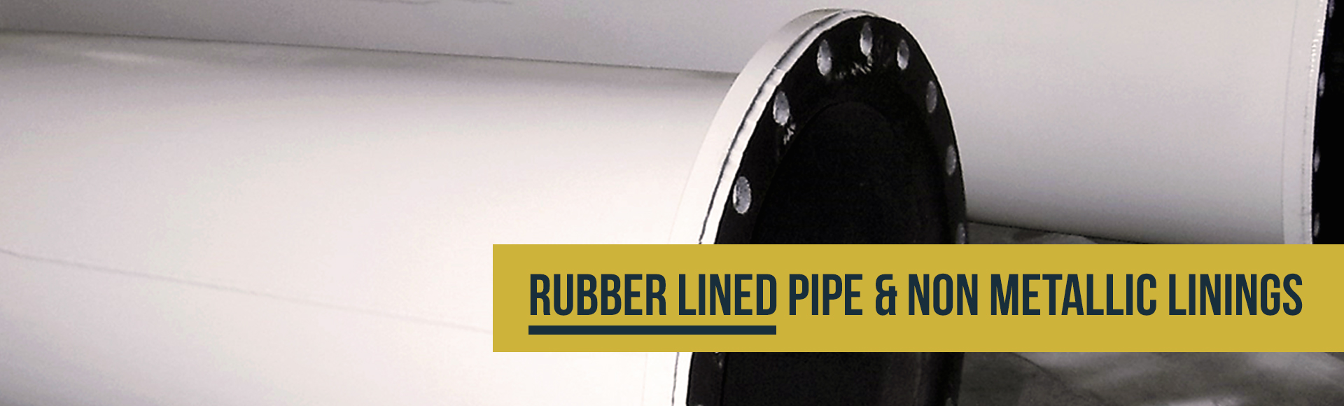 Rubber Lined Pipe & Non Metallic Linings - Trimay Wear Plate